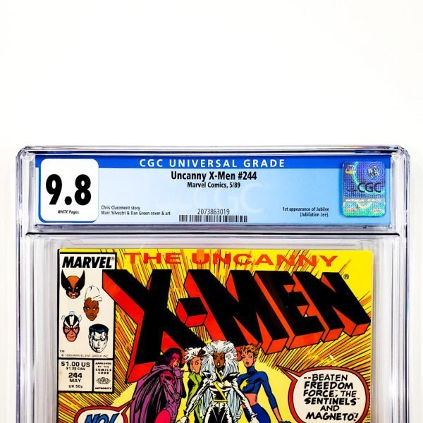 Uncanny X-Men #244 CGC 9.8 NM/M Front Label