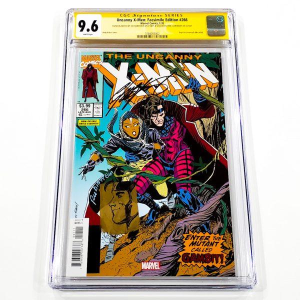 Uncanny X-Men #266 CGC SS 9.6 NM+ Facsimile Edition Front
