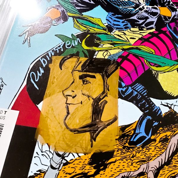Uncanny X-Men #266 CGC SS 9.6 NM+ Facsimile Edition Sketch