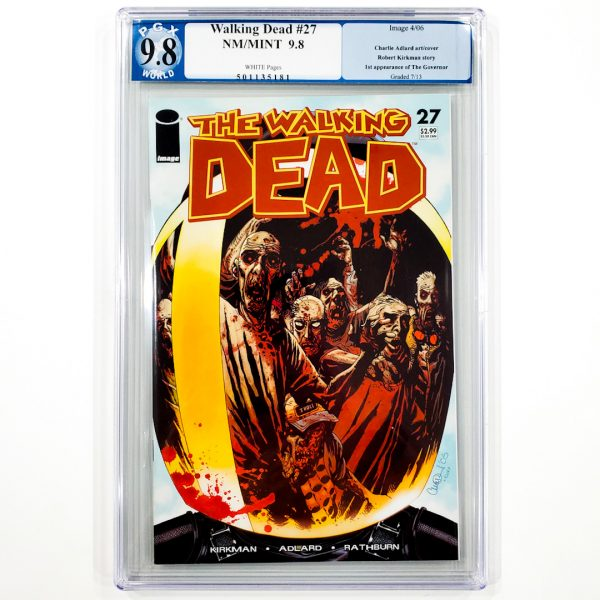 Walking Dead #27 PGX 9.8 NM/M Front