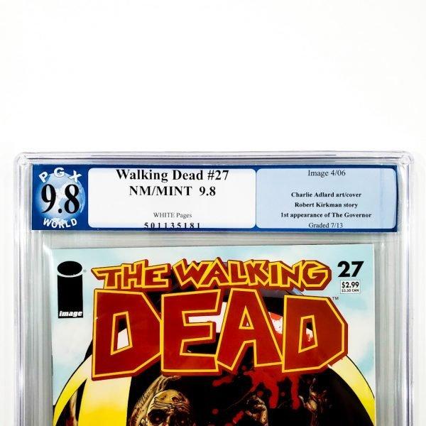 Walking Dead #27 PGX 9.8 NM/M Front Label