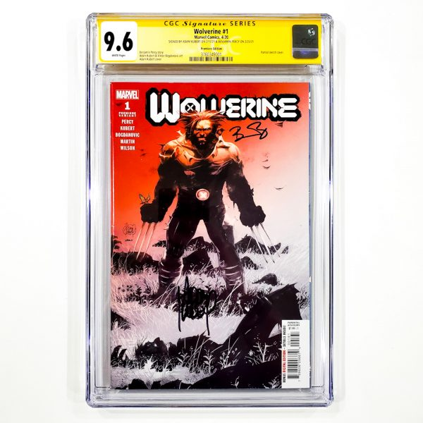 Wolverine (2020) #1 CGC SS 9.6 NM+ Premiere Edition Front