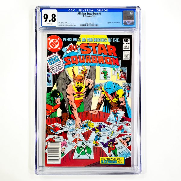 All-Star Squadron #1 CGC 9.8 NM/M Front