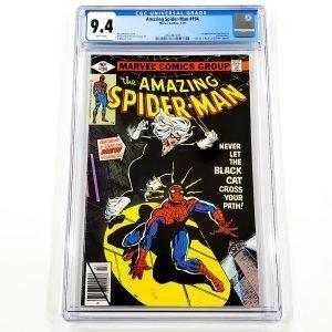 Amazing Spider-Man #194 CGC 9.4 NM Front