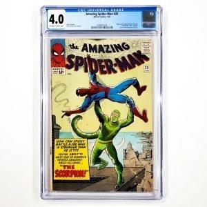 Amazing Spider-Man #20 CGC 4.0 VG Front