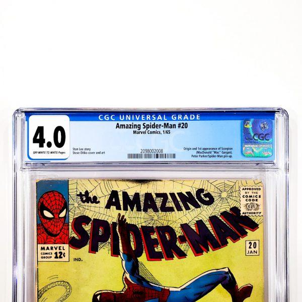 Amazing Spider-Man #20 CGC 4.0 VG Front Label