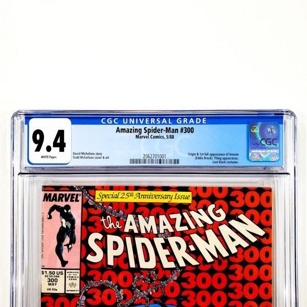 Amazing Spider-Man #300 CGC 9.4 NM Front Label