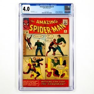 Amazing Spider-Man #4 CGC 4.0 VG Front