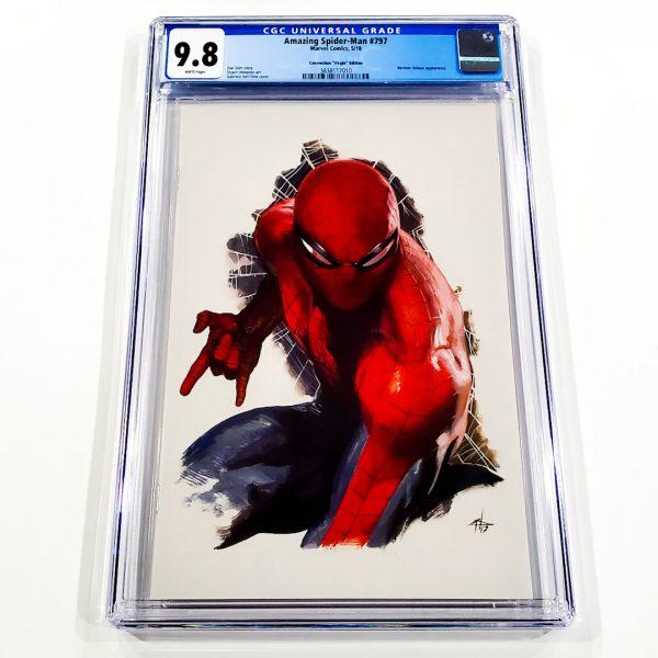Amazing Spider-Man #797 CGC 9.8 NM/M Convention Virgin Variant Front