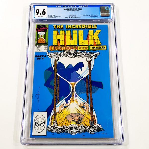 Incredible Hulk #367 CGC 9.6 NM+ Front