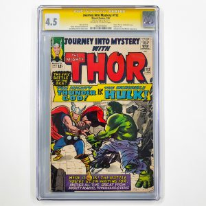 Journey Into Mystery #112 CGC SS 4.5 VG+ Front