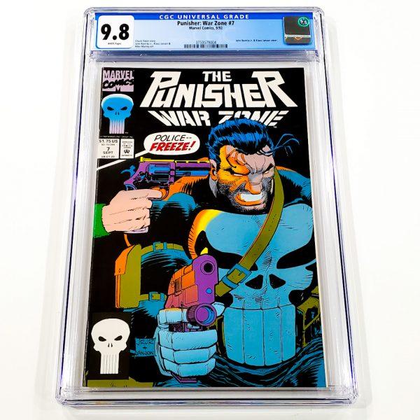 Punisher: War Zone #7 CGC 9.8 NM/M Front