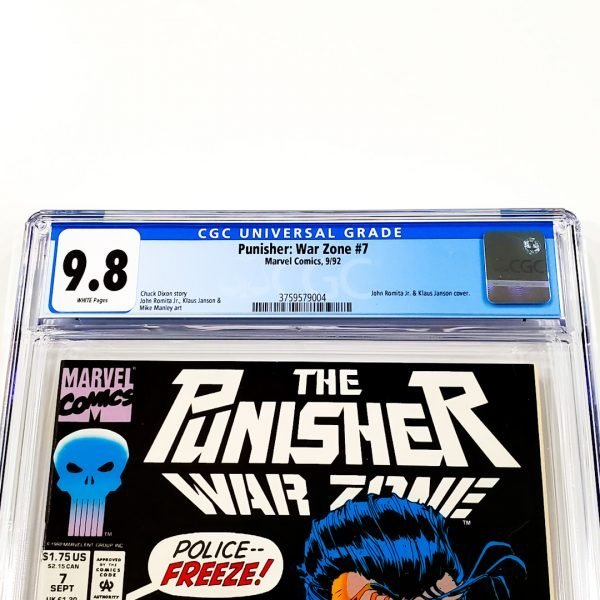 Punisher: War Zone #7 CGC 9.8 NM/M Front Label