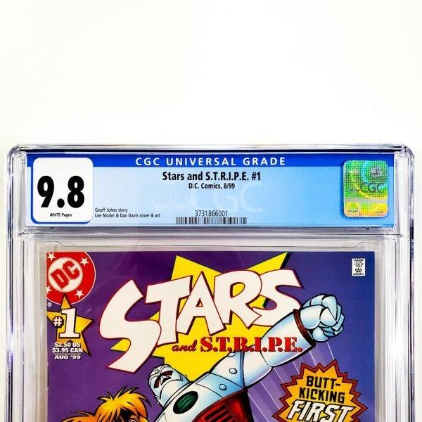 Stars and S.T.R.I.P.E. #1 CGC 9.8 NM/M Front Label