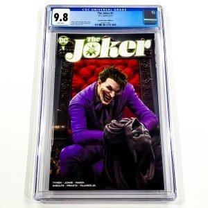 The Joker #1 CGC 9.8 NM/M Scorpion Comics Variant A Front