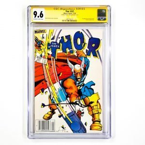 Thor #337 CGC SS 9.6 NM+ Newsstand Front