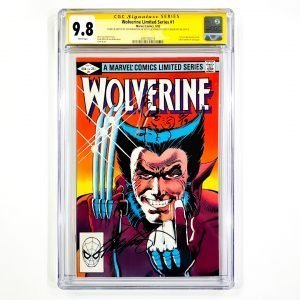 Wolverine Limited Series #1 CGC SS 9.8 NM/M Front