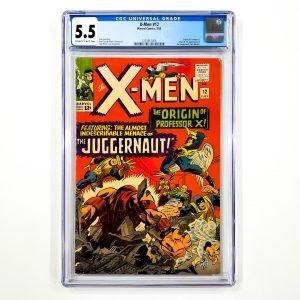 X-Men #12 CGC 5.5 FN- Front