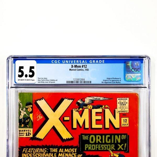 X-Men #12 CGC 5.5 FN- Front Label