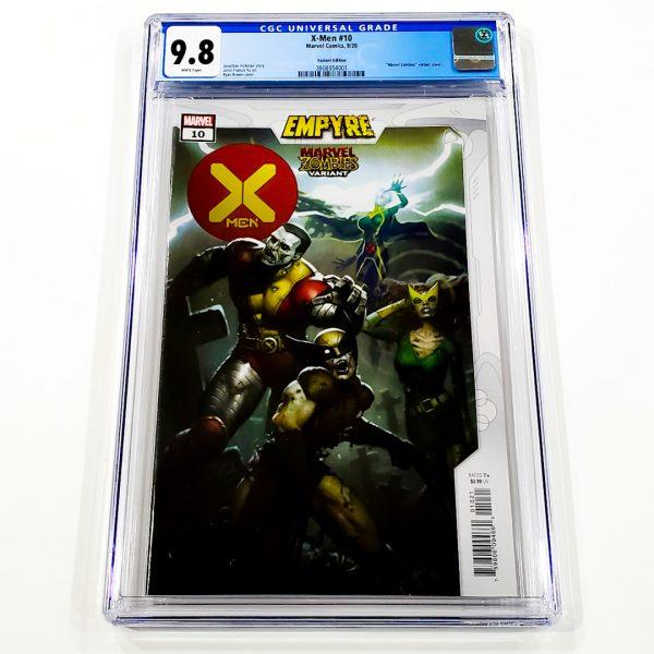 X-Men (2019) #10 CGC 9.8 NM/M Marvel Zombies Variant Front