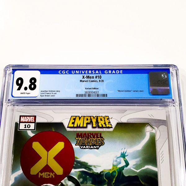 X-Men (2019) #10 CGC 9.8 NM/M Marvel Zombies Variant Front Label