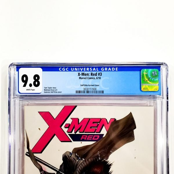X-Men: Red #3 CGC 9.8 NM/M Dell'Otto Variant Front Label