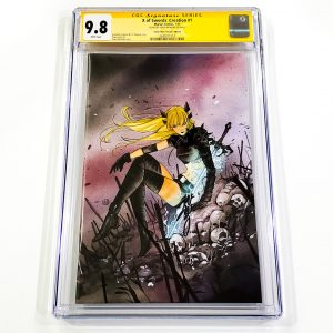 X of Swords: Creation #1 CGC SS 9.8 NM/M Comic Mint Virgin Variant Front