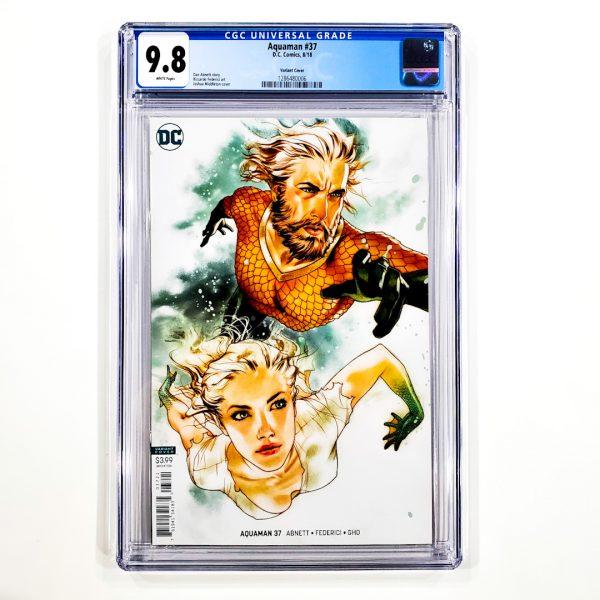 Aquaman (2016) #37 CGC 9.8 NM/M Middleton Variant Front