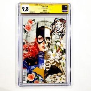 Batgirl #24 CGC SS 9.8 NM/M Middleton Variant Front