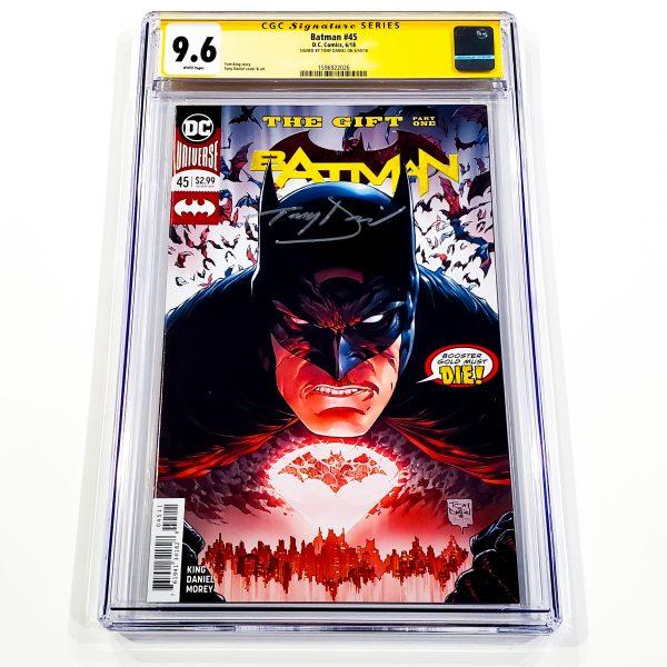Batman (2016) #45 CGC SS 9.6 NM+ Front