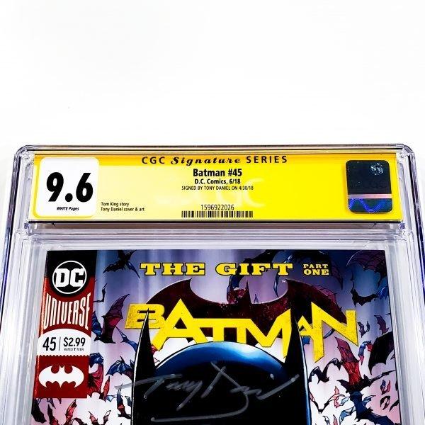 Batman (2016) #45 CGC SS 9.6 NM+ Front Label