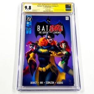 Batman: The Adventures Continue #1 CGC SS 9.8 NM/M KRS Comics Variant Front