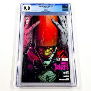 Batman: Three Jokers #1 CGC 9.8 NM/M Variant Cover D Front