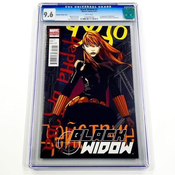 Black Widow (2010) #1 CGC 9.6 NM+ Front