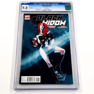 Black Widow (2010) #7 CGC 9.8 NM/M Variant Front