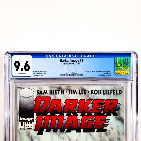 Darker Image #1 CGC 9.6 NM+ Front Label