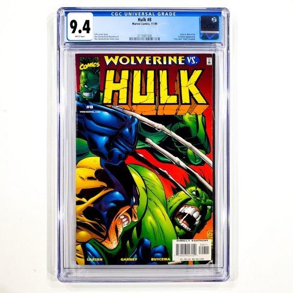 Hulk (1999) #8 CGC 9.4 NM Front