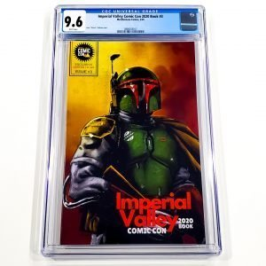 Imperial Valley Comic Con 2020 Book #3 CGC 9.6 NM+ Front