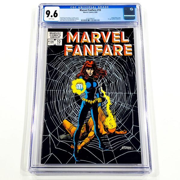Marvel Fanfare #10 CGC 9.6 NM+ Front