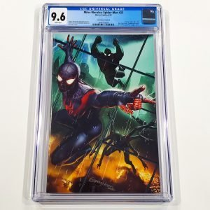 Miles Morales: Spider-Man #25 CGC 9.6 NM+ Horn Variant Cover B Front