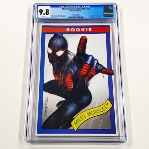 Miles Morales: Spider-Man #25 CGC 9.8 NM/M Horn Variant Cover C Front
