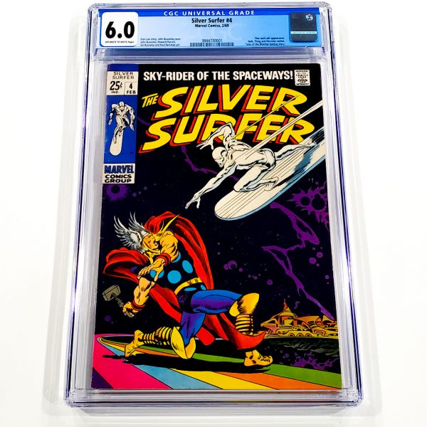 Silver Surfer #4 CGC 6.0 FN Front