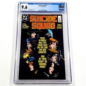 Suicide Squad (1987) #1 CGC 9.6 NM+ Front