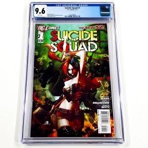 Suicide Squad (2011) #1 CGC 9.6 NM+ Front