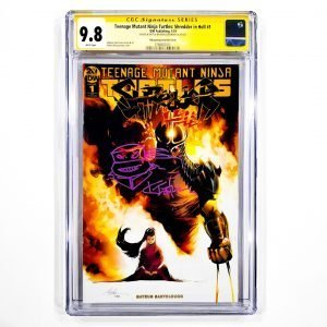 TMNT: Shredder In Hell #1 CGC SS 9.8 NM/M Albuquerque Variant Front