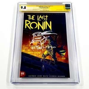 TMNT: The Last Ronin #1 CGC SS 9.8 NM/M Retailer Incentive Variant B Front