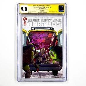 Teenage Mutant Ninja Turtles #95 CGC SS 9.8 NM/M 2nd Printing Variant Front