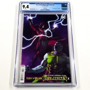 Year of the Villain: Hell Arisen #3 CGC 9.4 NM Front Federici Variant Front