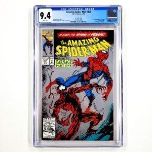 Amazing Spider-Man #361 CGC 9.4 NM Second Printing Front