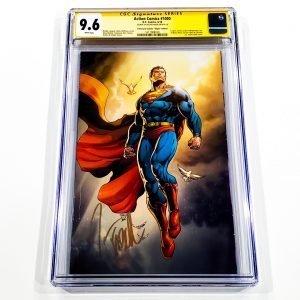 Action Comics #1000 CGC 9.6 NM+ Yesteryear Comics Virgin Variant Front